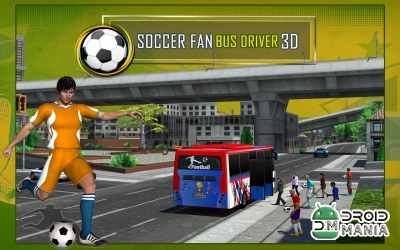 Скриншот Soccer Fan Bus Driver 3D №1