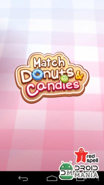 Скриншот Match Donuts and Candies №1