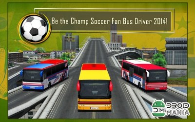 Скриншот Soccer Fan Bus Driver 3D №2