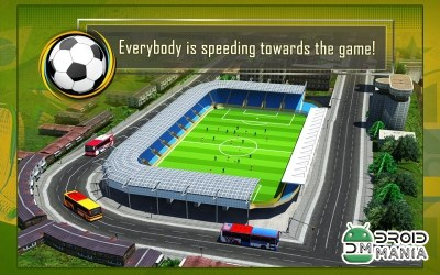 Скриншот Soccer Fan Bus Driver 3D №3