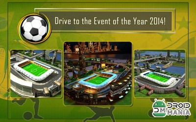 Скриншот Soccer Fan Bus Driver 3D №4