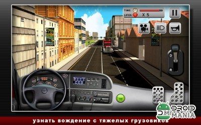 Скриншот Road Truck Simulator №1