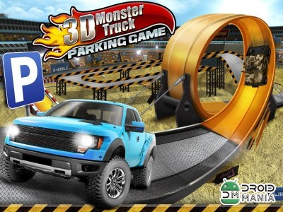 Скриншот 3D Monster Truck Parking Game №1