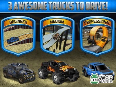 Скриншот 3D Monster Truck Parking Game №4