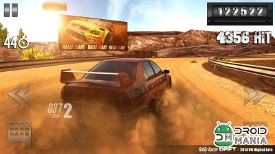 Скриншот Rally Racer Drift №4