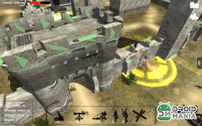 Скриншот Castle Defense 3D №1