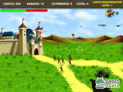 Скриншот King Castle Shooting Games №4