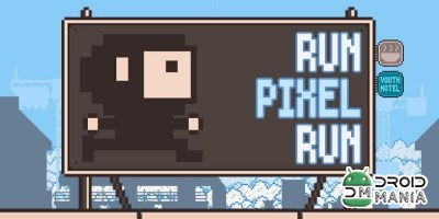 Скриншот Run Pixel Run №1