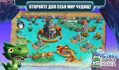 Скриншот Monster Legends №1