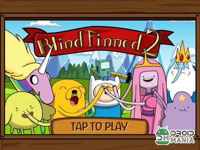 Скриншот Adventure Time Blind Finned 2 №1