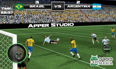 Скриншот Football World Cup 2014 Free №4