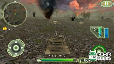 Скриншот Crazy Fighting Tank 3D-FPS №3