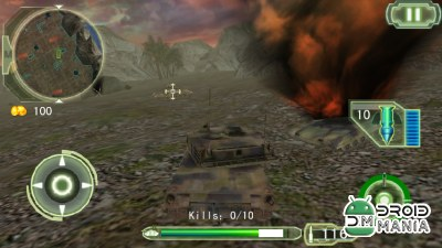 Скриншот Crazy Fighting Tank 3D-FPS №4