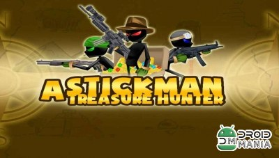 Скриншот Stickman Treasure Hunter Game №1