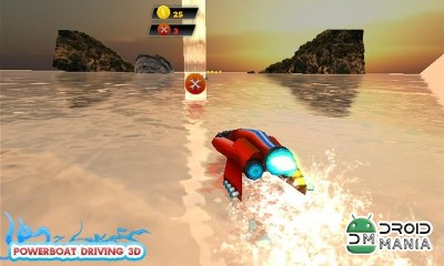 Скриншот Powerboat Driving 3D №2