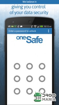 Скриншот oneSafe | password manager №1