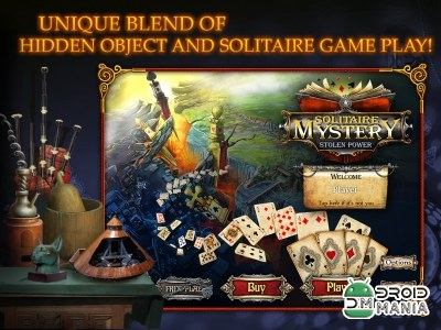 Скриншот Solitaire Mystery HD (Full) №1