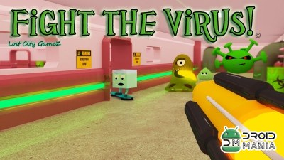 Скриншот Fight the Virus! №1