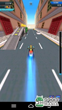 Скриншот Burst Rider (Moto Racing Game) №3