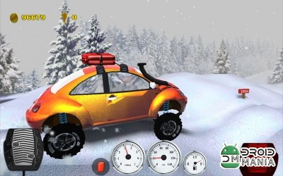 Скриншот Offroad Racing 3D:2 №4