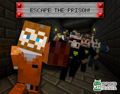 Скриншот Prison Break Craft 3D Pro №1
