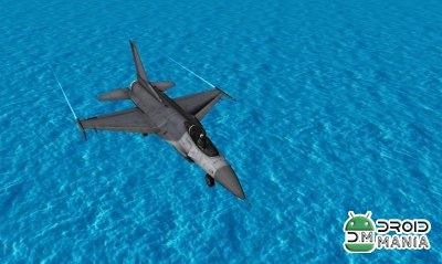 Скриншот Fly Airplane F18 Fighters 3D №1
