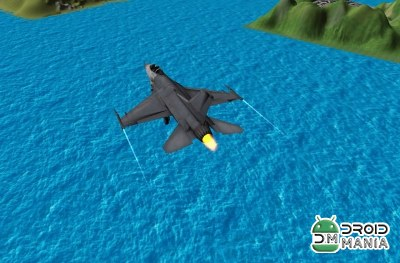 Скриншот Fly Airplane F18 Fighters 3D №3