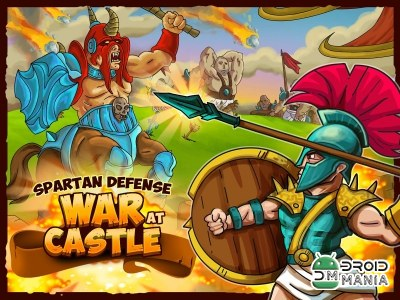 Скриншот Spartan Defense: War at Castle №1