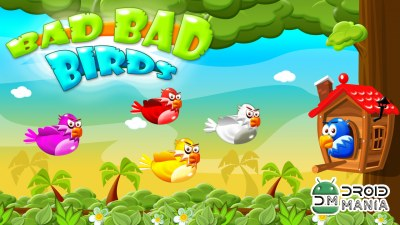 Скриншот Bad Bad Birds - Puzzle Defense №2