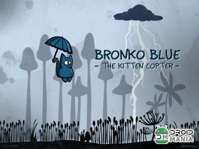 Скриншот Bronko Blue, the kitten copter №1