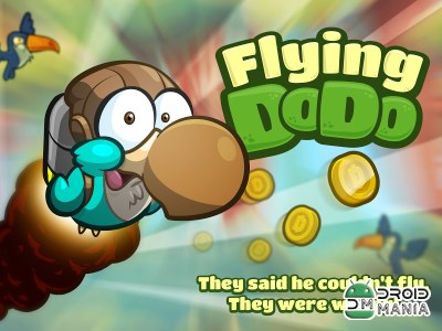 Скриншот Flying Dodo: Wilbur's Fun Ride №1