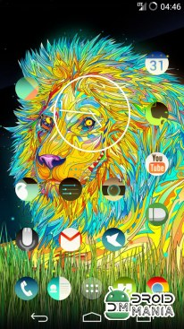 Скриншот Trippy Round Icon Pack Nova/GO №2
