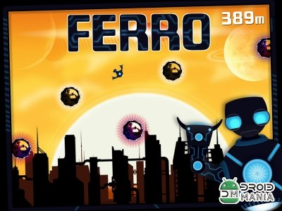 Скриншот Ferro: Robot on the Run №1