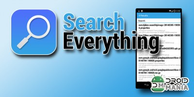 Скриншот Search Everything №1