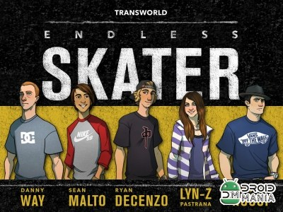 Скриншот Transworld Endless Skater №1