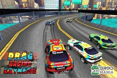Скриншот Drag Racing Extreme (3D Game) №2