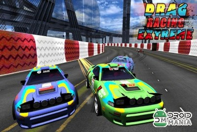 Скриншот Drag Racing Extreme (3D Game) №3