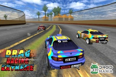 Скриншот Drag Racing Extreme (3D Game) №4