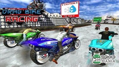 Скриншот Drag Bike Racing (3D Game) №3