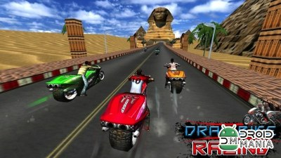 Скриншот Drag Bike Racing (3D Game) №4