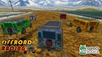 Скриншот Offroad Racing (3D Game) №1