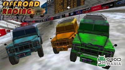 Скриншот Offroad Racing (3D Game) №4