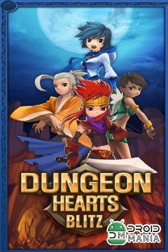 Скриншот Dungeon Hearts Blitz №1