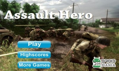 Скриншот Assault Hero - Shooting Game №1