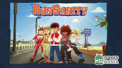 Скриншот RunSanity – Fun running game №1