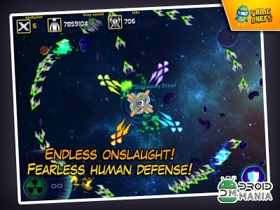 Скриншот Galaxy Defense Force HD №3