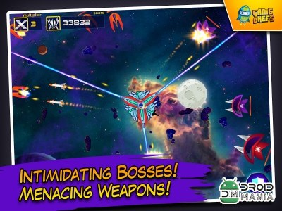 Скриншот Galaxy Defense Force HD №4