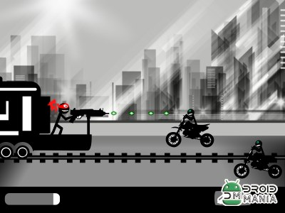 Скриншот Stickman Train Shooting №1