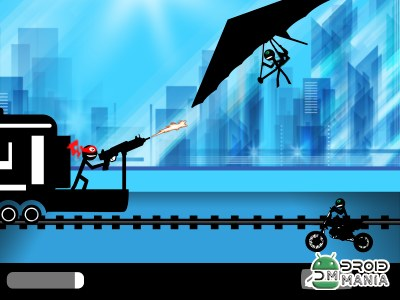 Скриншот Stickman Train Shooting №2