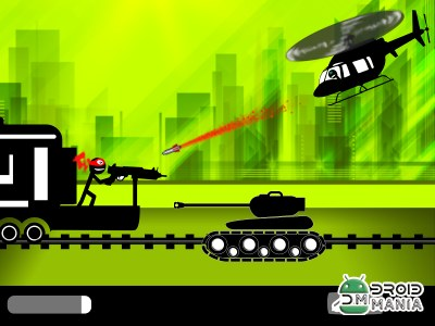 Скриншот Stickman Train Shooting №3